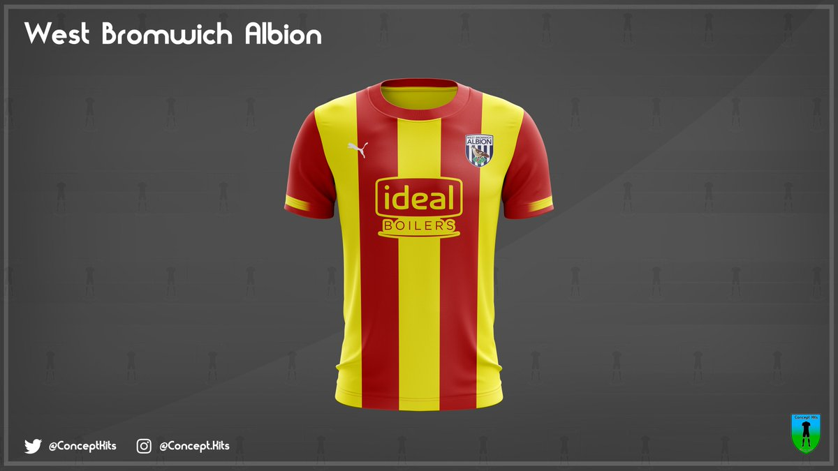 Concept Kits On Twitter West Bromwich Albion Football Club Away Kit Concept 2019 20 Requested On Design By Matt Slater 98 Wba