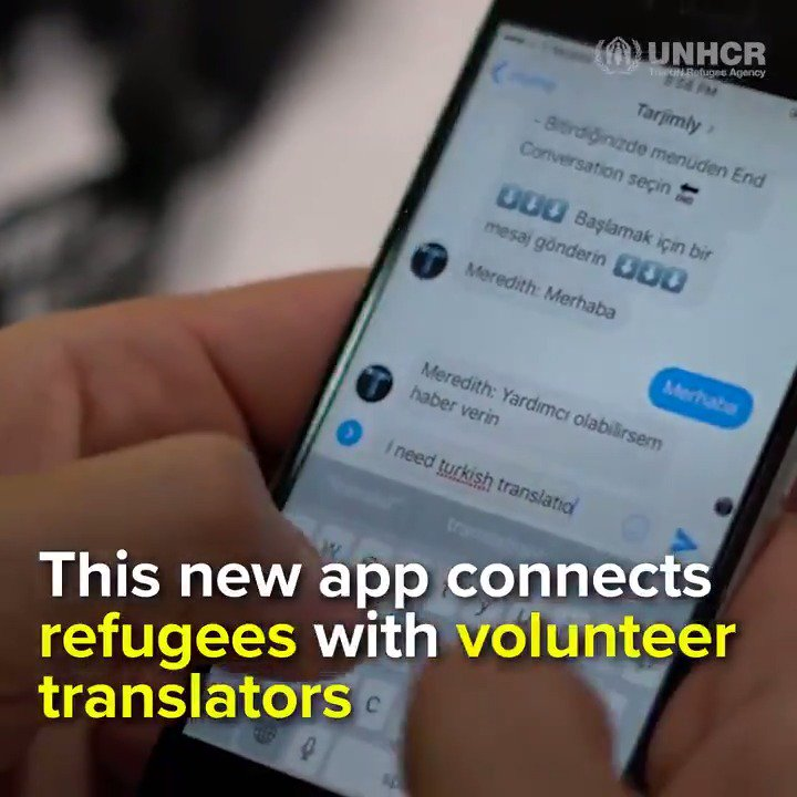 Are you bilingual? This is how you can use your language skills to help refugees. ➡️@tarjimlyapp