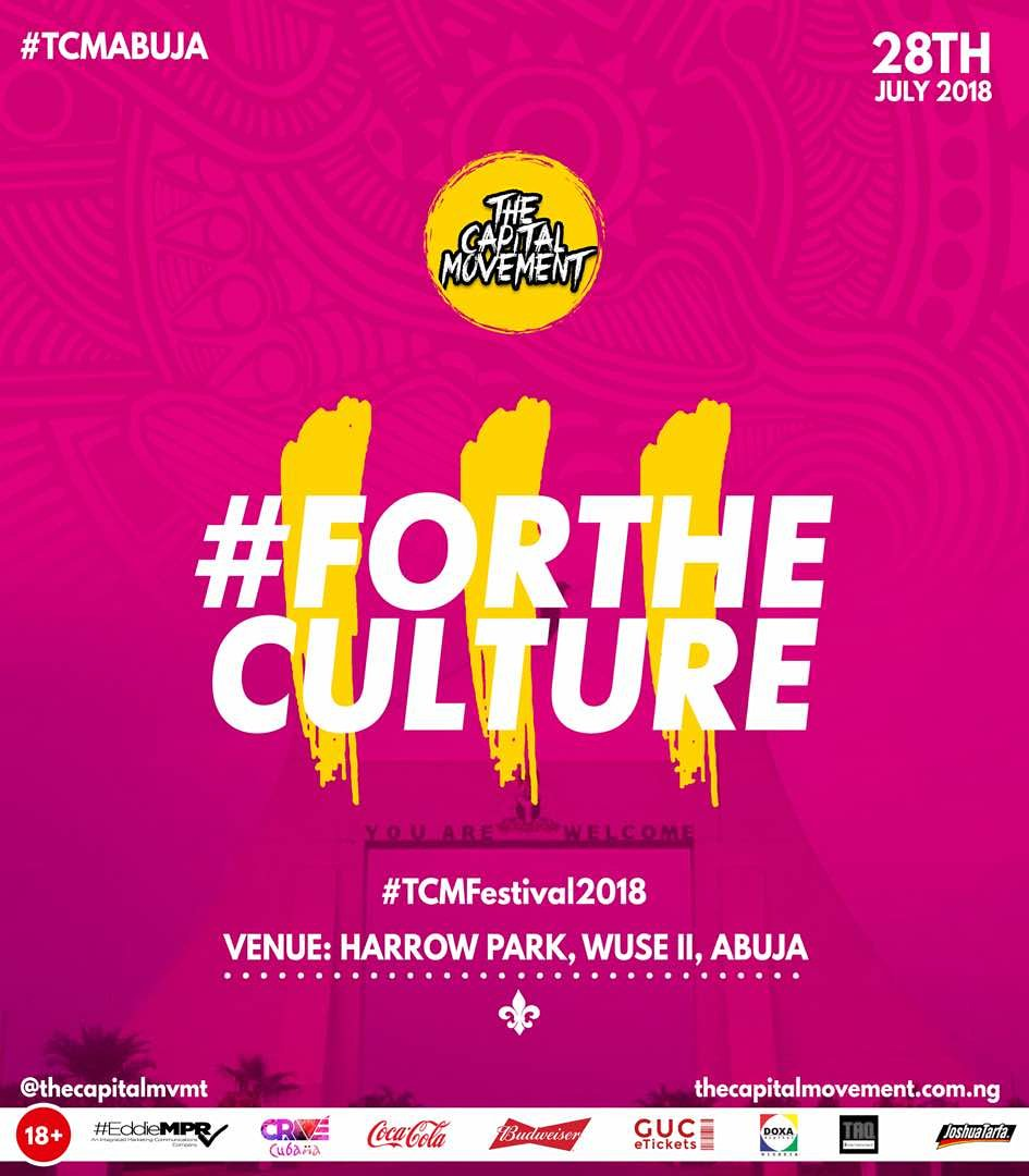 Abuja are you ready! Are you 18+ and resident in Abuja & also have not registered/voted before? Come and experience the unusual @ #TCMFestival2018 as INEC will be on ground to interact with you. #ForTheCulture #YouthVotesCount  28th July 2018 @ Harrow Park, Wuse II, Abuja, by 2pm
