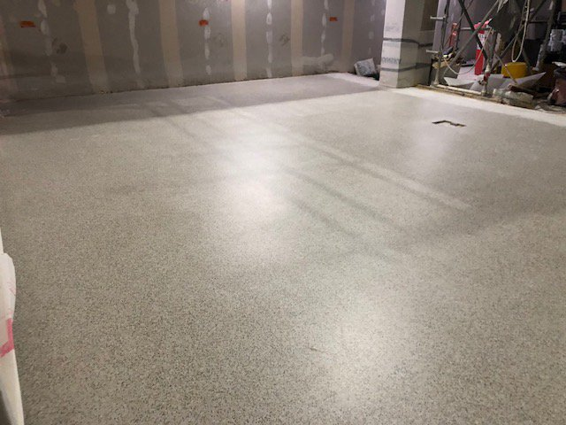 Dmc Contracts Ltd A Twitter First Area Of Flowcrete S