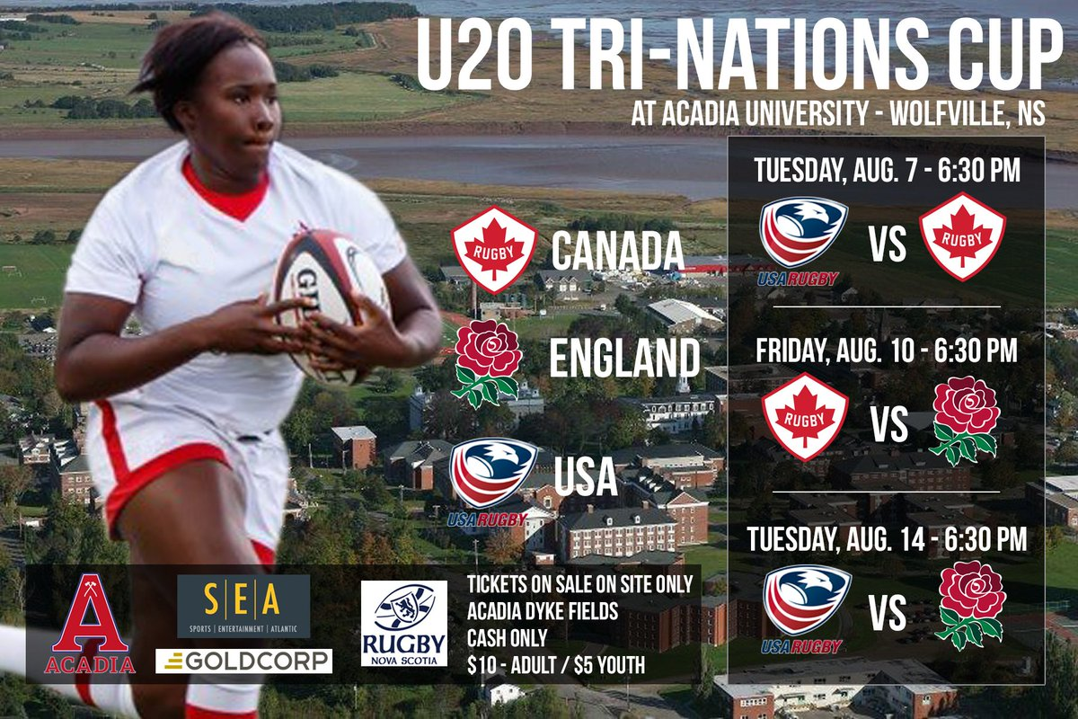 Rugby Canada On Twitter Excited To Announce The Full Dates