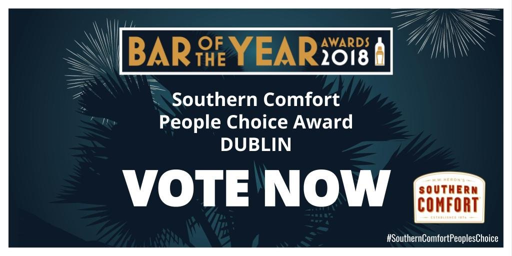 Congrats to our sister hotels @CrownePlazaBlan and @HiltonDublinKil on their nominations for Dublin Bar of the Year 2018 in the @BarOfTheYear Awards.  You can vote for Sanctuary Bar (Crowne Plaza) or Broyage Bar & Bistro (Hilton) by following this link:  https://t.co/aMHf3cK931 https://t.co/b1j48NvrVR