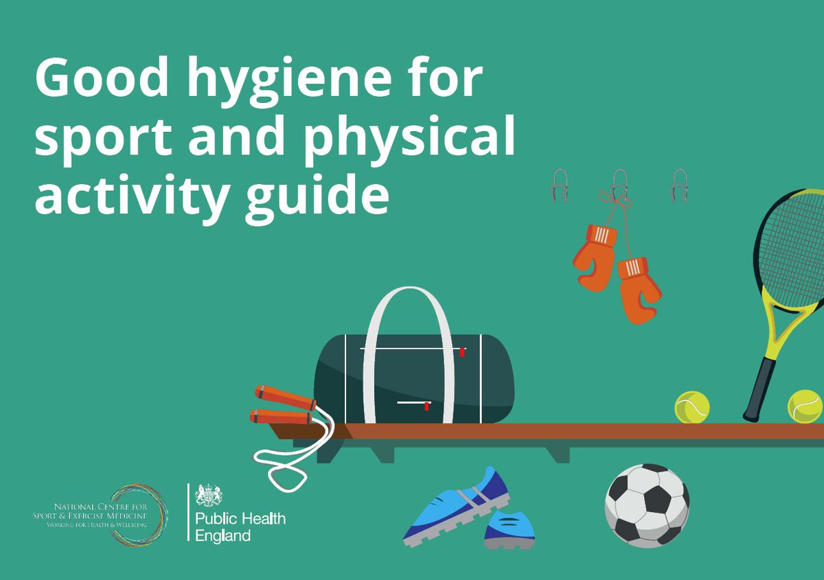 test Twitter Media - Good hygiene practice, by both organisations and individuals, helps ensure that everybody involved in sport & physical activity stays fit and well enough to keep up the activities they love https://t.co/QiwXWT9wYi https://t.co/cE1LnQXouA