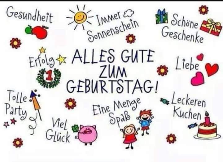 Поздравления с днем рождения женщине на немецком языке с переводом, картинки для женщины