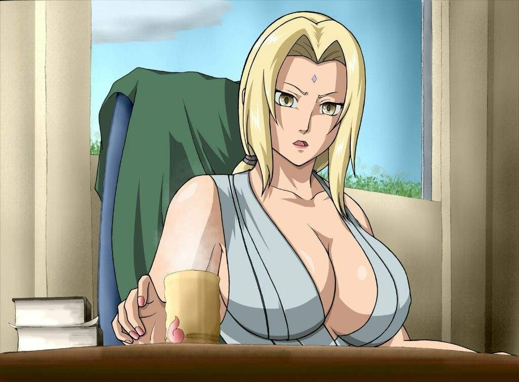 Who has the biggest boobs in naruto