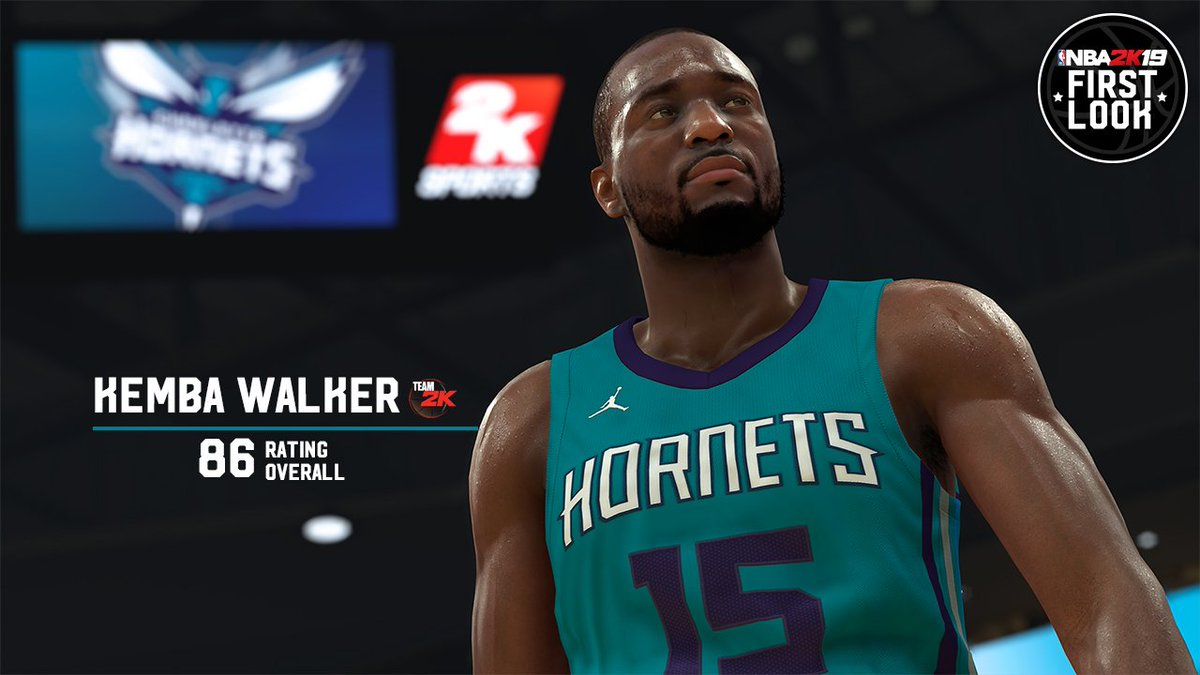 NBA 2K19 Rating For Charlotte Hornets Guard Kemba Walker ...