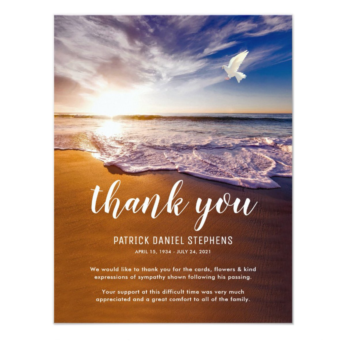 Elaine foster on twitter funeral thank you note card httpst elaine foster on twitter funeral thank you note card httpstdhkvkbls5l funeral memorial condolence sympathy zb6sties izmirmasajfo
