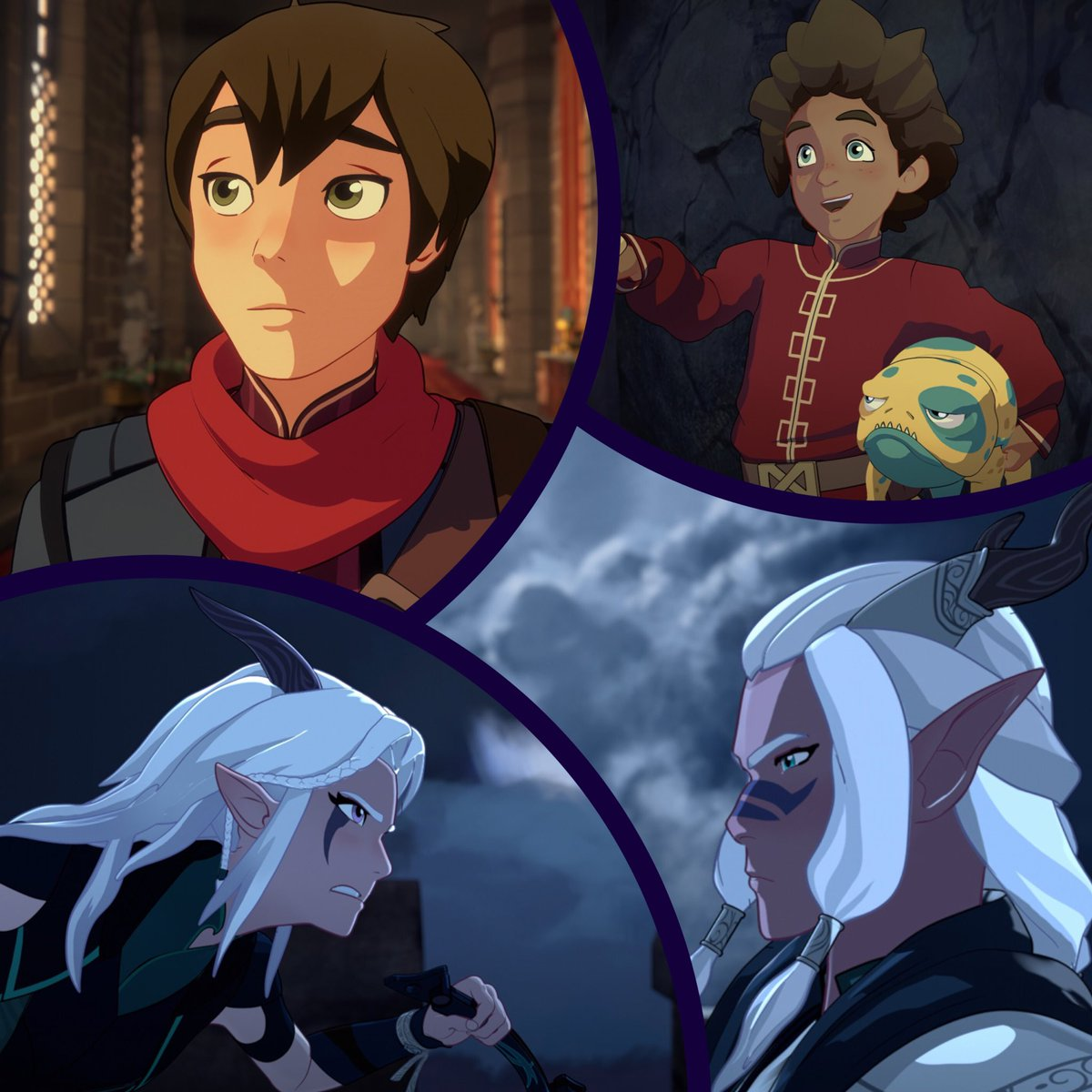 """Dragon Prince: The Dragon Prince On Twitter: """"WE ALSO NAMED EZRAN'S GLOW"""