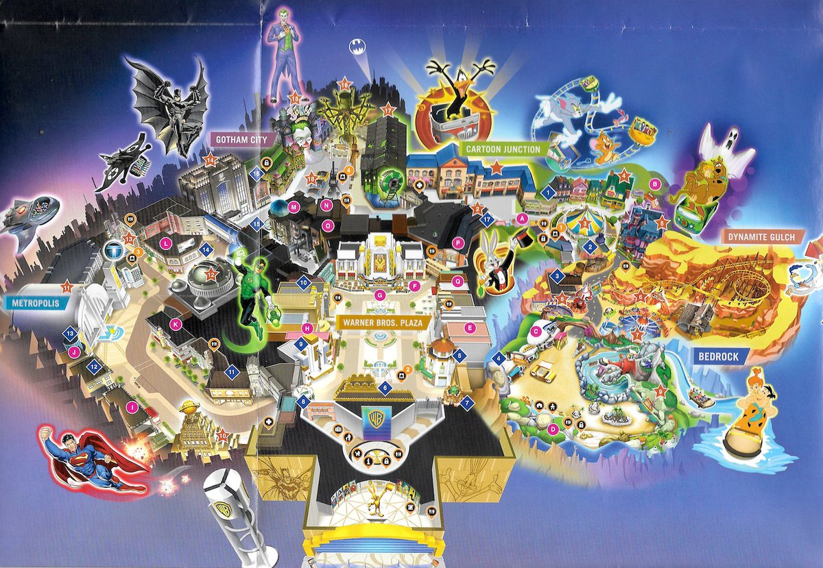 Disney Movie World Map.Warner Bros World Abu Dhabi Construction Updates