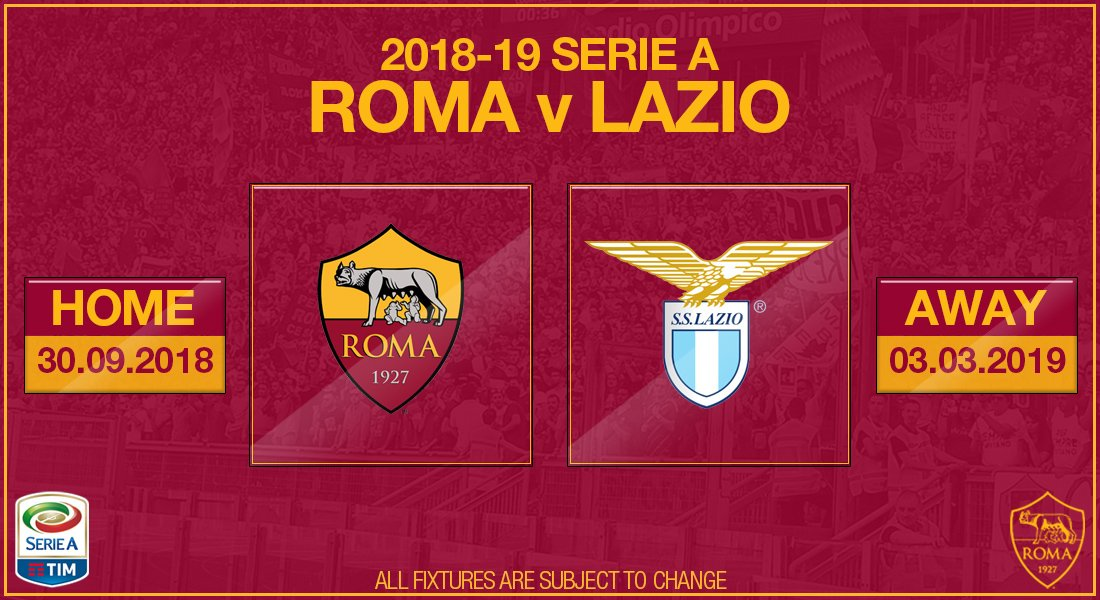 Asroma Calendario.As Roma On Twitter Segnatevi Sul Calendario Le Due