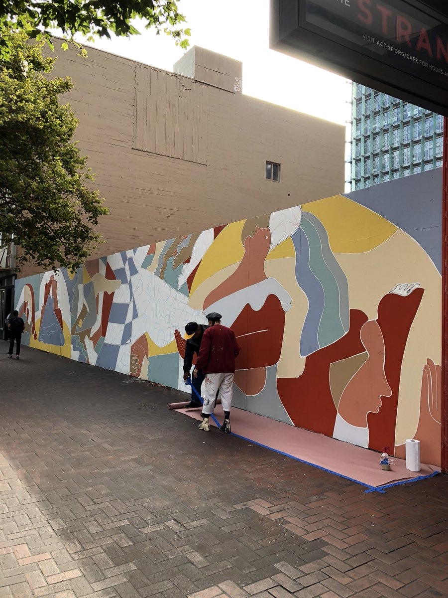 Ariel Adkins On Twitter This Mural By Buckley In