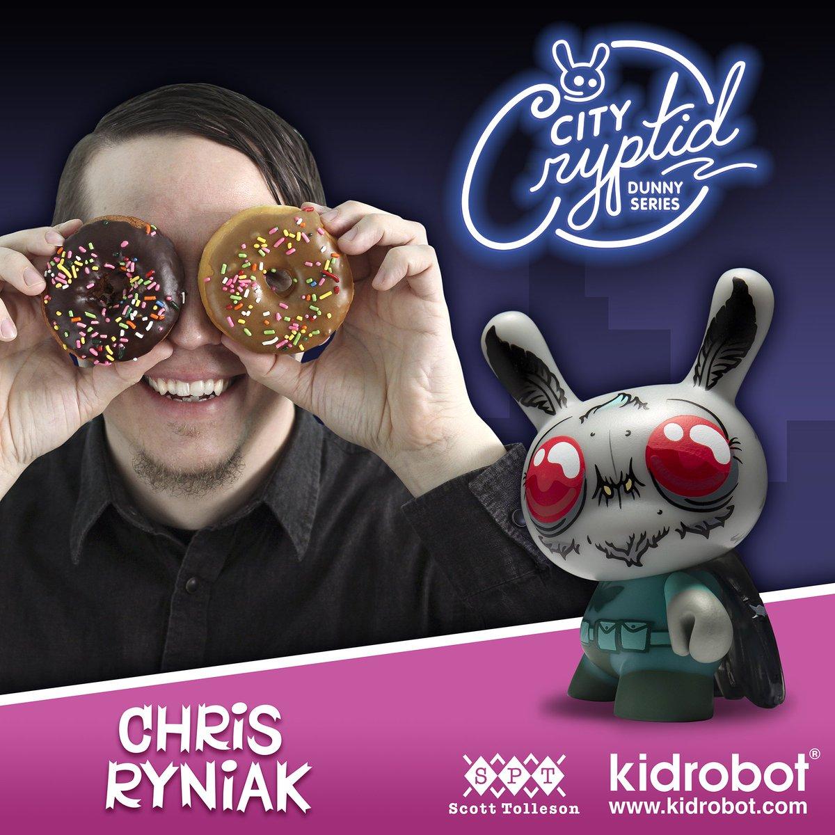 "Kidrobot-City Cryptid Series 2018 ""Mothman"" by Chris Ryniak"