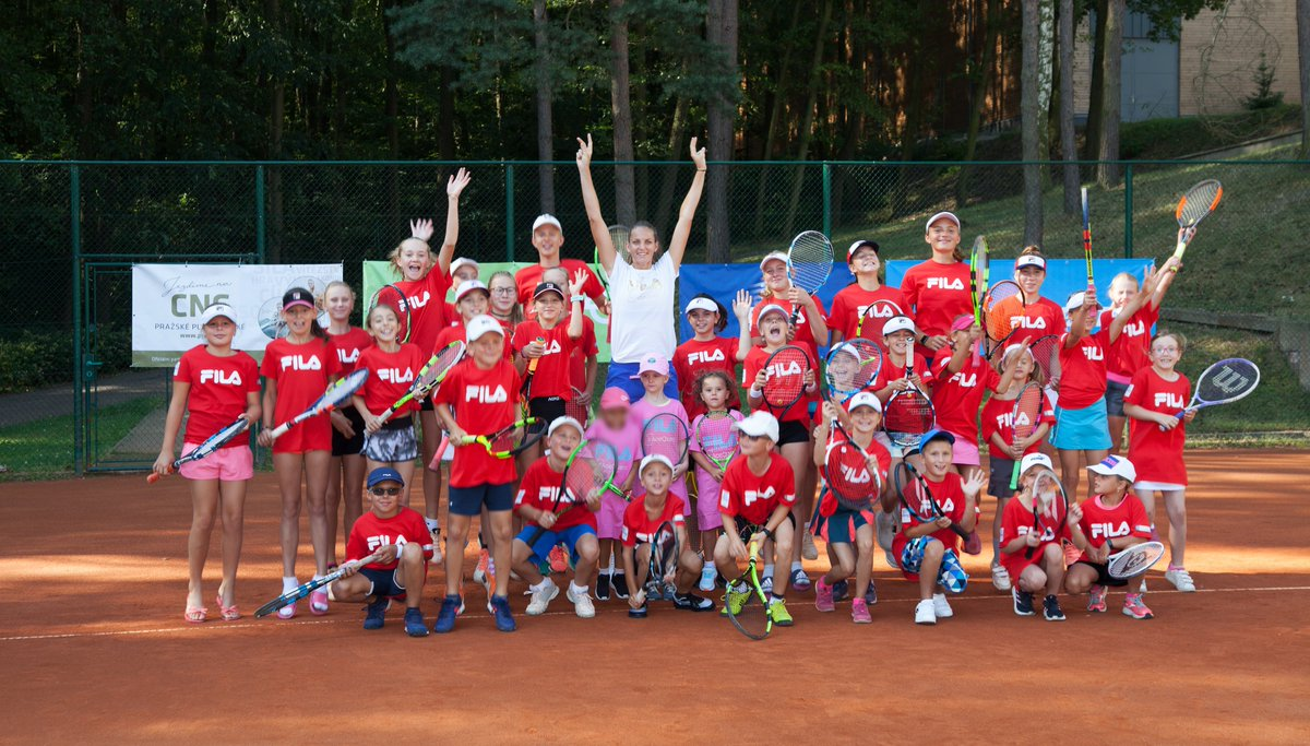 Tennis camp - day one :-)