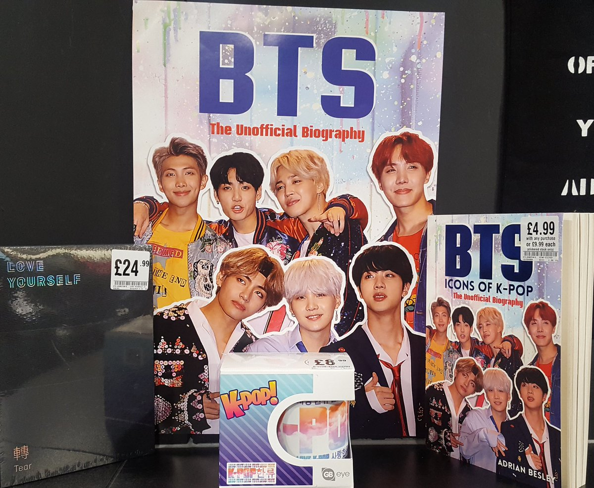 Hmv Telford On Twitter Have You Grabbed Our Bts Merch Yet Grab This Free Poster When You Purchase The Icons Of K Pop Book Telfordcentre Kpop Telford Https T Co Dqx1g6tflj