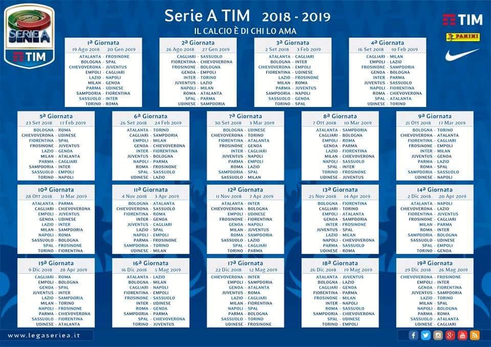 Calendario As Roma 2019 20.Nicola De Benedictis On Twitter Calendario 2018 2019 Fvcg
