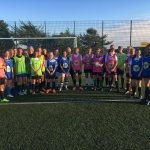 What a fantastic evening, 88 girls attending our ACC Phase 2 trials @BrannelSchool   The highest standard we have seen & so much talent on show!  Well done to everyone who attended 😃⚽️👍🏻  #cornishfootball