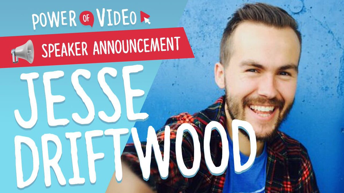 📢2018 SPEAKER ANNOUNCEMENT 📢  Do you even story? This guy does! We are stoked to announce that @jessedriftwood1 will be joining us this year at Power of Video - September 7th and 8th #povbelfast #belfast https://t.co/SGm6TKanhK