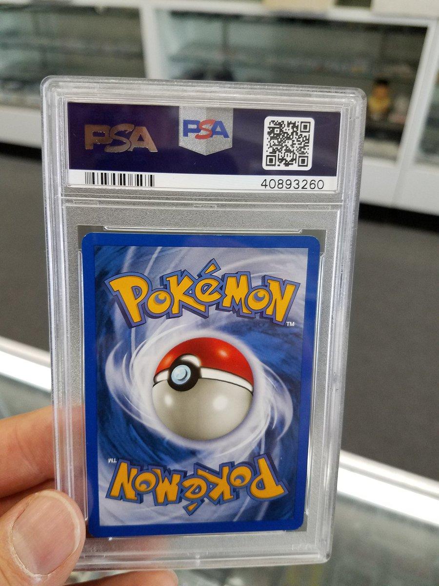 Baseball Cards Plus On Twitter Rare Pokemon Just Back From Psa