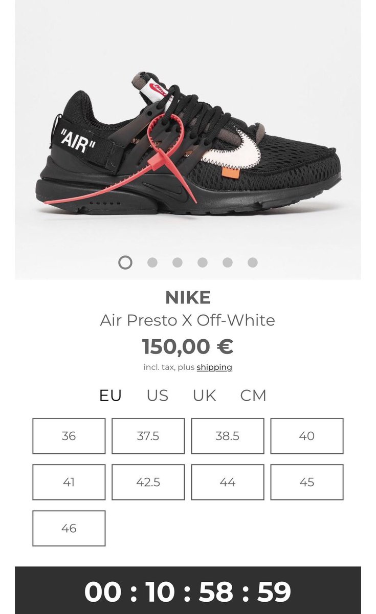 Nike Air Presto linkfor Solebox