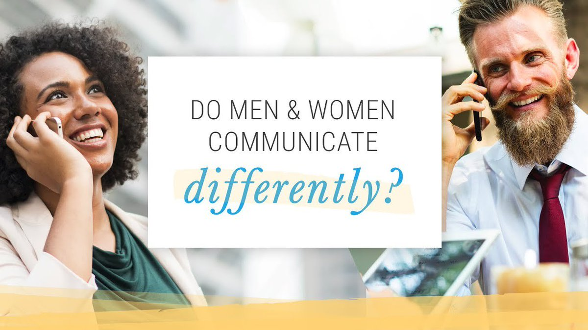 do men and women communicate differently essay Not only do men have better builds than women, but men also do not have to go through certain changes throughout their lives like females do, such as menstruation also, men and women are treated very differently in society.