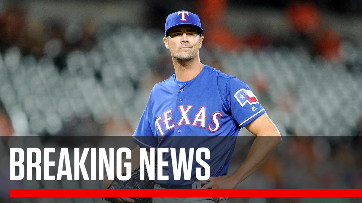 156dbab6 Breaking: The @Cubs have acquired Cole Hamels from the Rangers for several  low minor