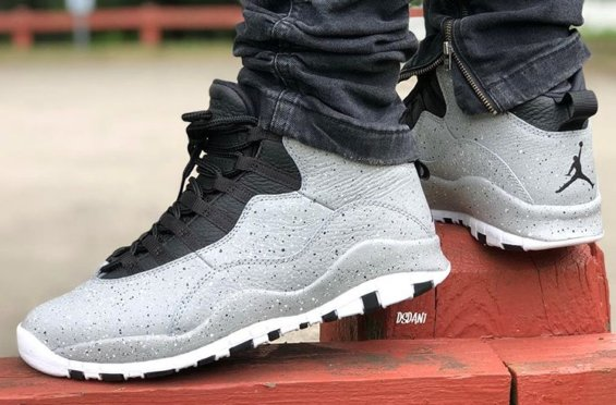 "bc0856578ed The Air Jordan 10 Retro ""Light Smoke Grey"" Releases On July 28th $190  =»http://bit.ly/lovesneakernews pic.twitter.com/UeGvkU3fAT"