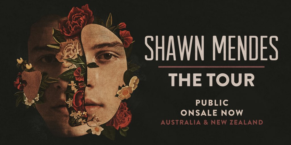 All Australia & New Zealand shows are onsale now x shawnmendesthetour.com