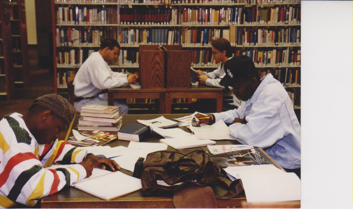 #ThrowbackThursday  It is not 1992 anymore, but you&#39;ll still find ACM students studying in the Library every day.    #EngageYourFuture #alleganycollegeofmaryland #ExperienceACM #TBT #studytime #library<br>http://pic.twitter.com/Gbprk9O1MA