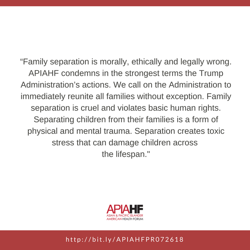 Apiahf On Twitter Familiesbelongtogether And Many Immigrant