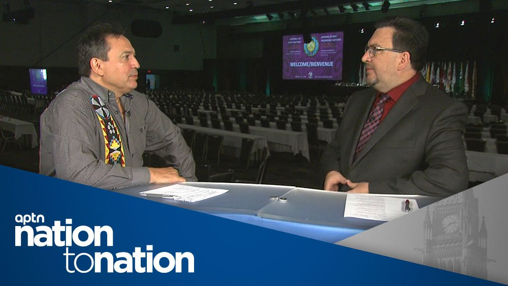 Watch the special AFN edition of Nation To Nation: aptnnews.ca/?p=97121 #AFN2018