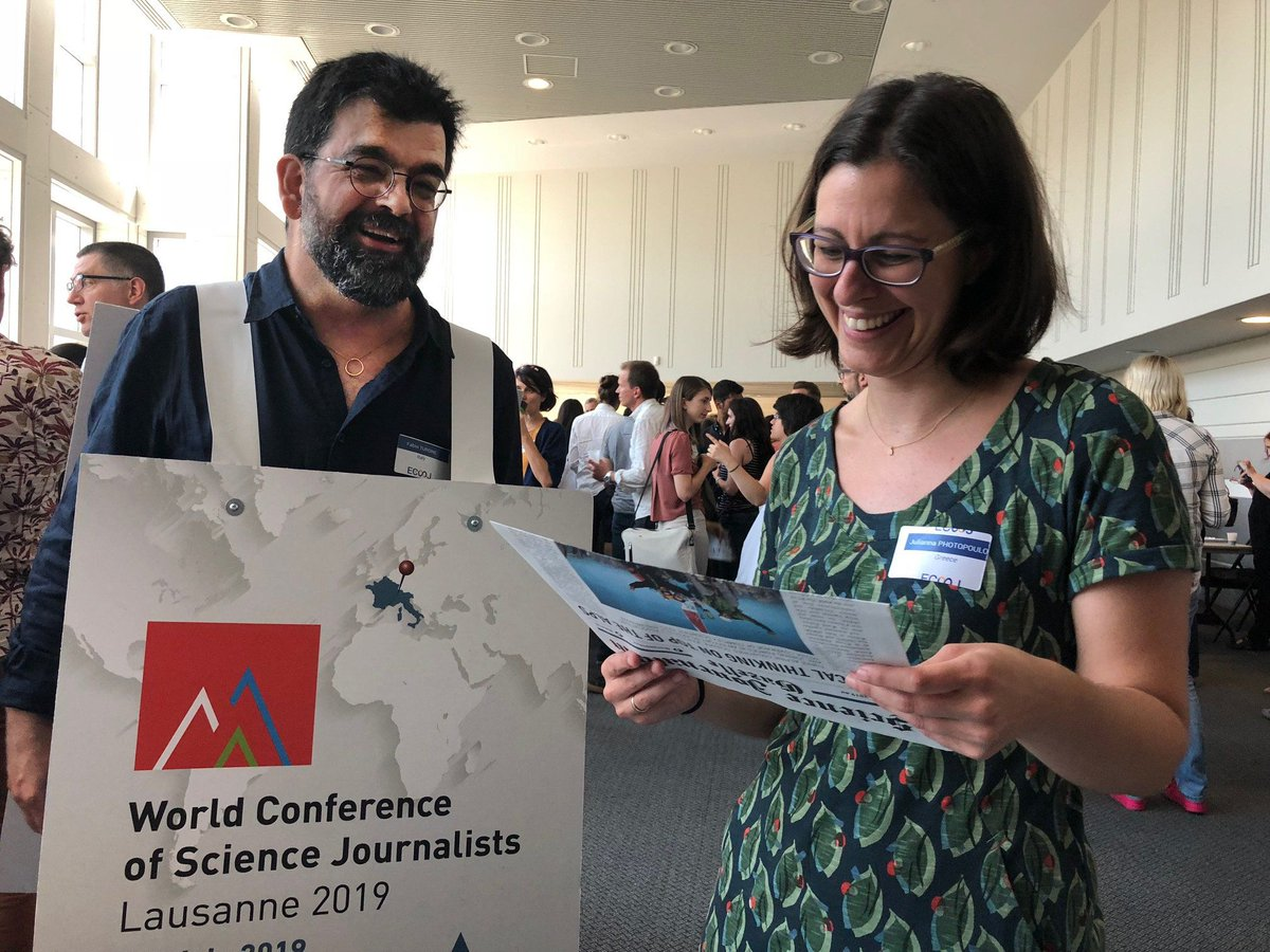 Sign up for the @theWcsj newsletter and get a 50% discount on the ticket price for @absw's UK Conference of Science Journalists #UKCSJ in London (16 Oct.) Discount rate ends on Tuesday 31 July. https://buff.ly/2t3CDev
