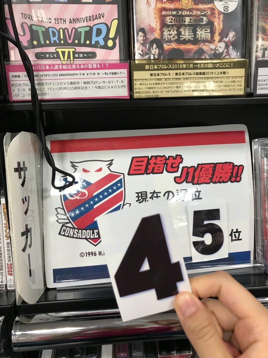 掲示 コンサドーレ 札幌