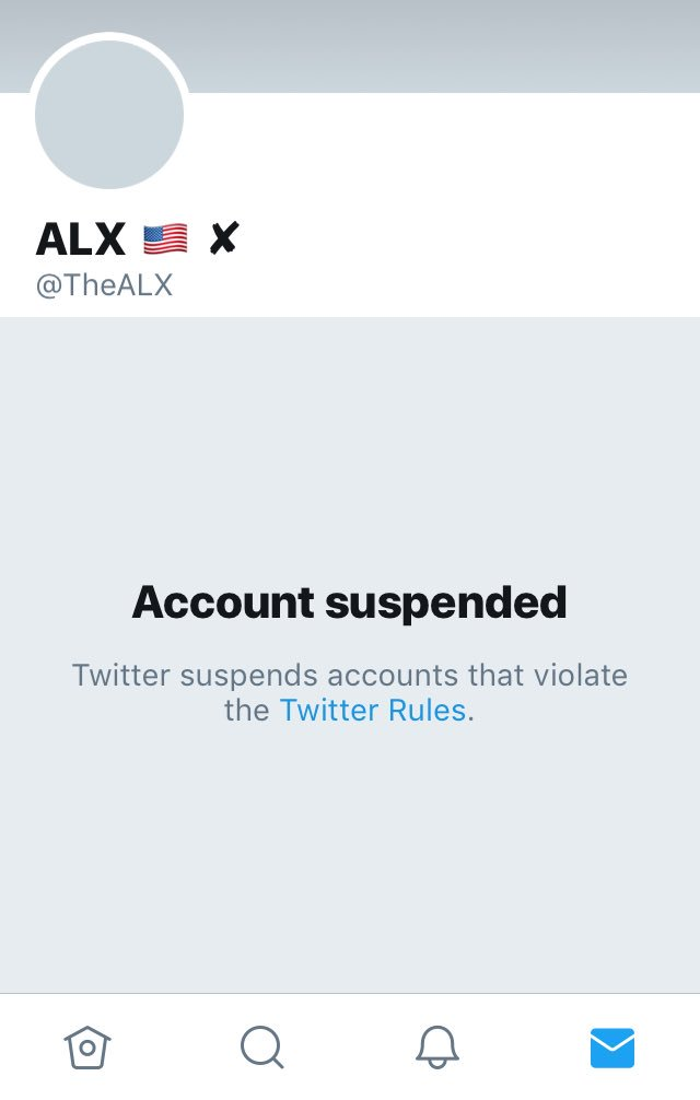 """Ryan Fournier on Twitter: """"Twitter banned another fairly ..."""