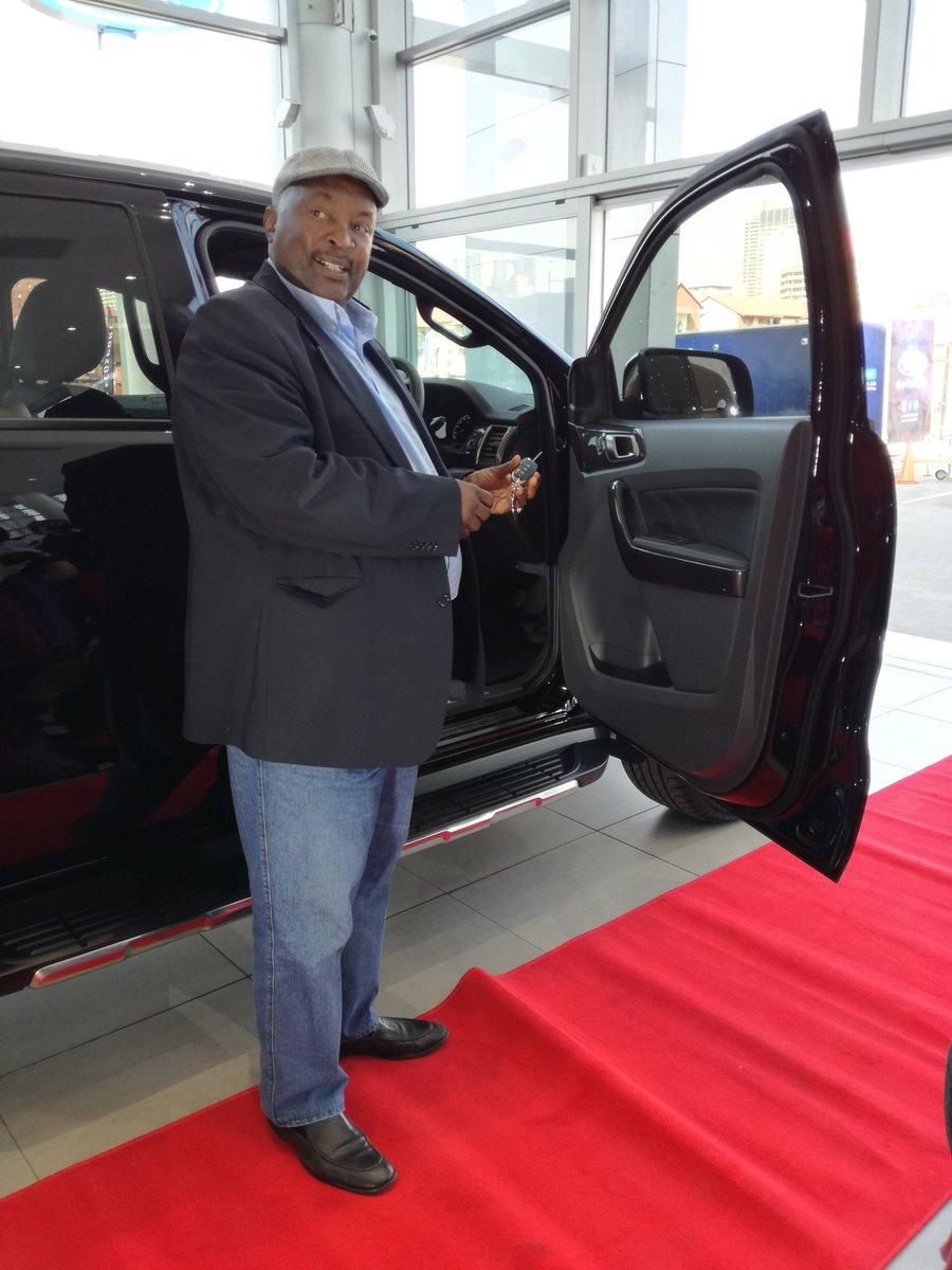 Football Legend Jomo Sono Receives Brand New Car