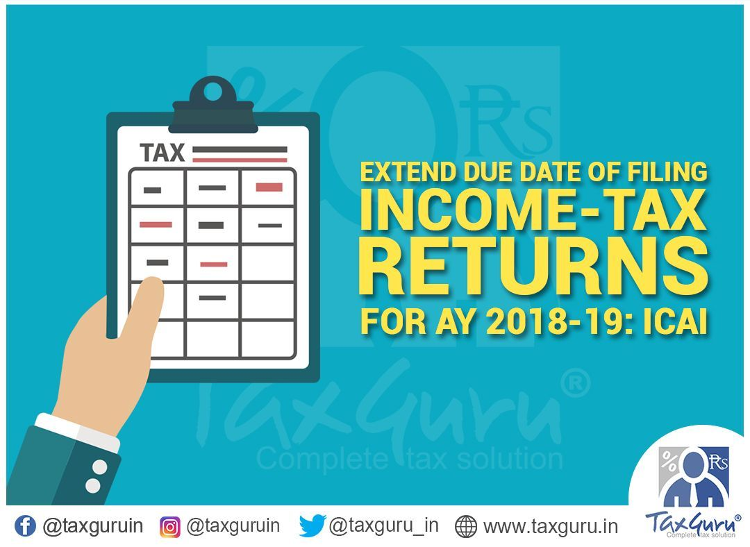 Due date for filing income tax return fy -17 individuals