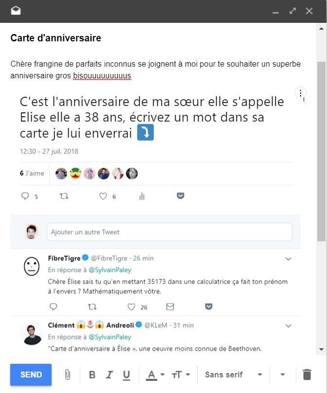 Sylvain Paley On Twitter Cest Lanniversaire De Ma Sœur