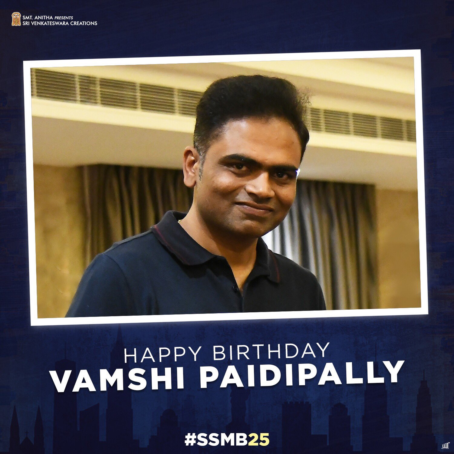Birthday Wishes to Leading Director @directorvamshi #Mahesh25 #MB25 https://t.co/4VxPLfG9xt