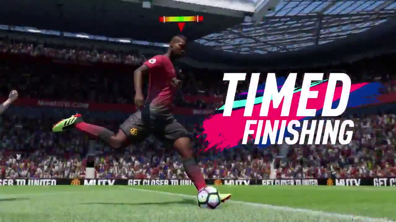 Make all your shots world class in #FIFA19 with all-new Timed Finishing @EASPORTSFIFA https://t.co/YBioU8e5Jd