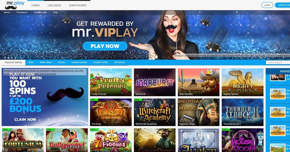 казино mr play