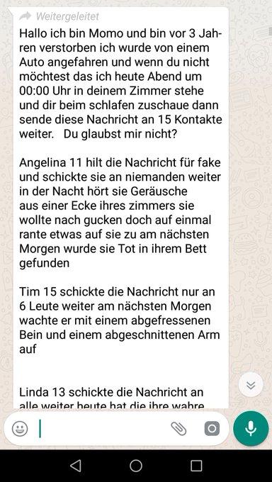 Momo Challenge Deutsch