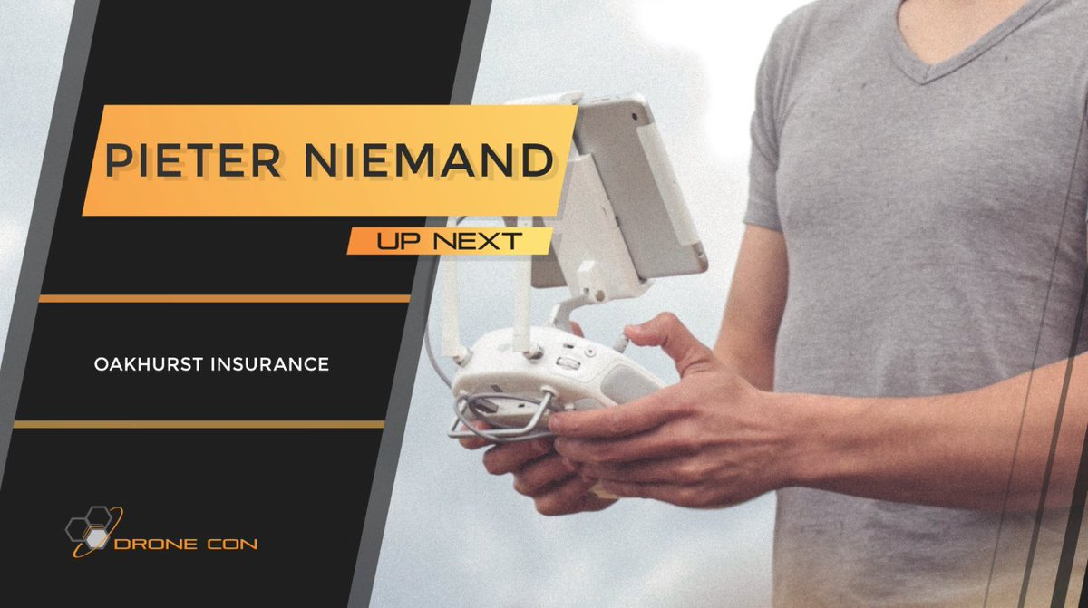 Drone Con 2018 Announcement: Keynote speaker video presentations will be uploaded every Friday on to our Facebook page: https://t.co/I2pHHwoPB7    3rd Speaker: Pieter Niemand - Oakhurst Insurance https://t.co/N1gCWH3cWa
