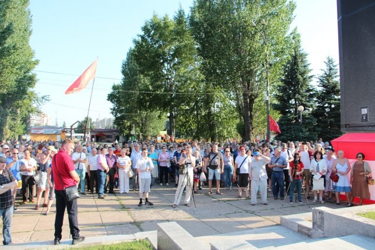 There were also #protests in #Tolyatti, #Izhevsk, #Oryol and #Kazan: