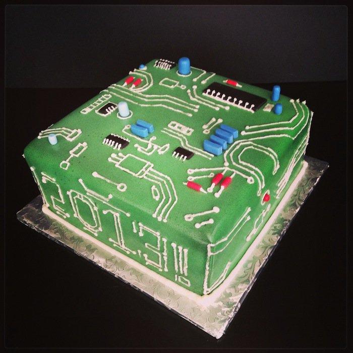Открытки с днем рождения электронику