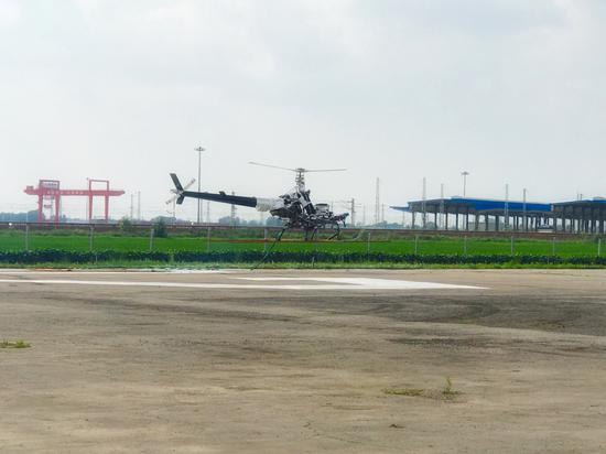 الصين تستكمل بنجاح الرحلات التجريبية لمروحية  Xiangying-200  الجديدة بدون طيار DjGhMMhW4AAXNNz