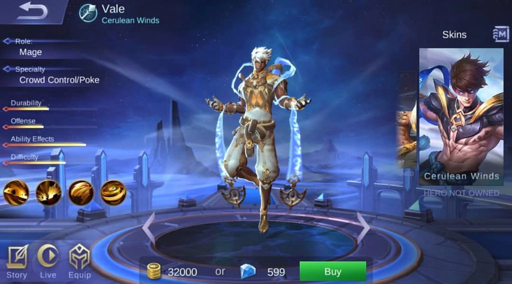 Mobile Legends Philippines On Twitter New Hero Vale And Skin
