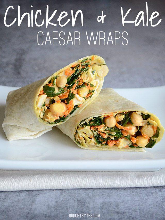 Please RT! #recipes #food #dessert Chicken Kale Caesar Wraps https://t.co/QYolXa2MQU https://t.co/2PIkjOQLzj