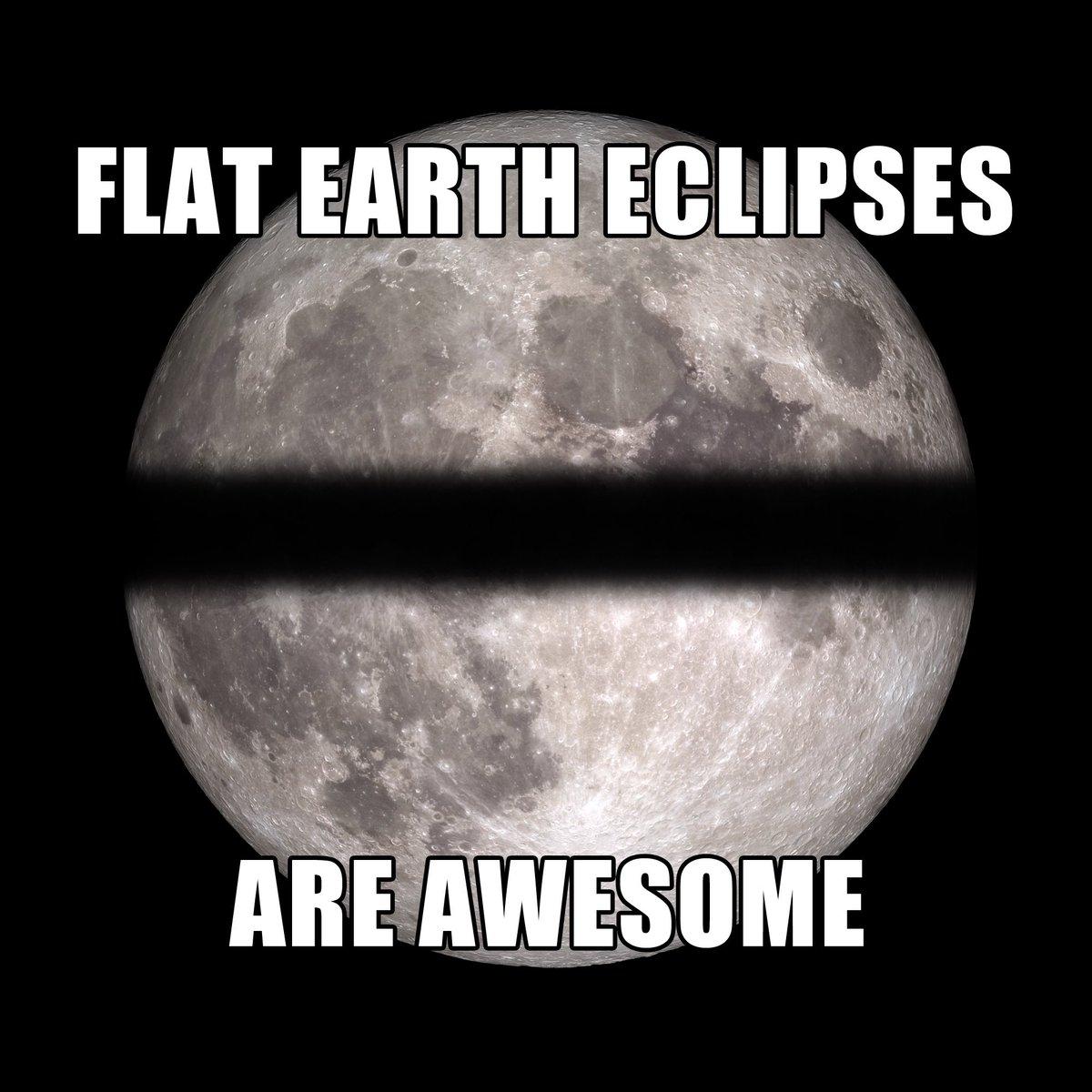 Enjoy the lunar eclipse tonight, Flat Earthers!