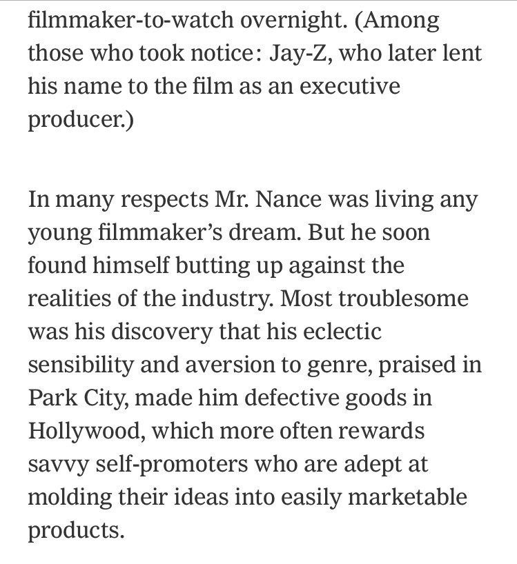 What happens when the halo from the Sundance hype industrial complex starts to fade? nytimes.com/2018/07/26/art…