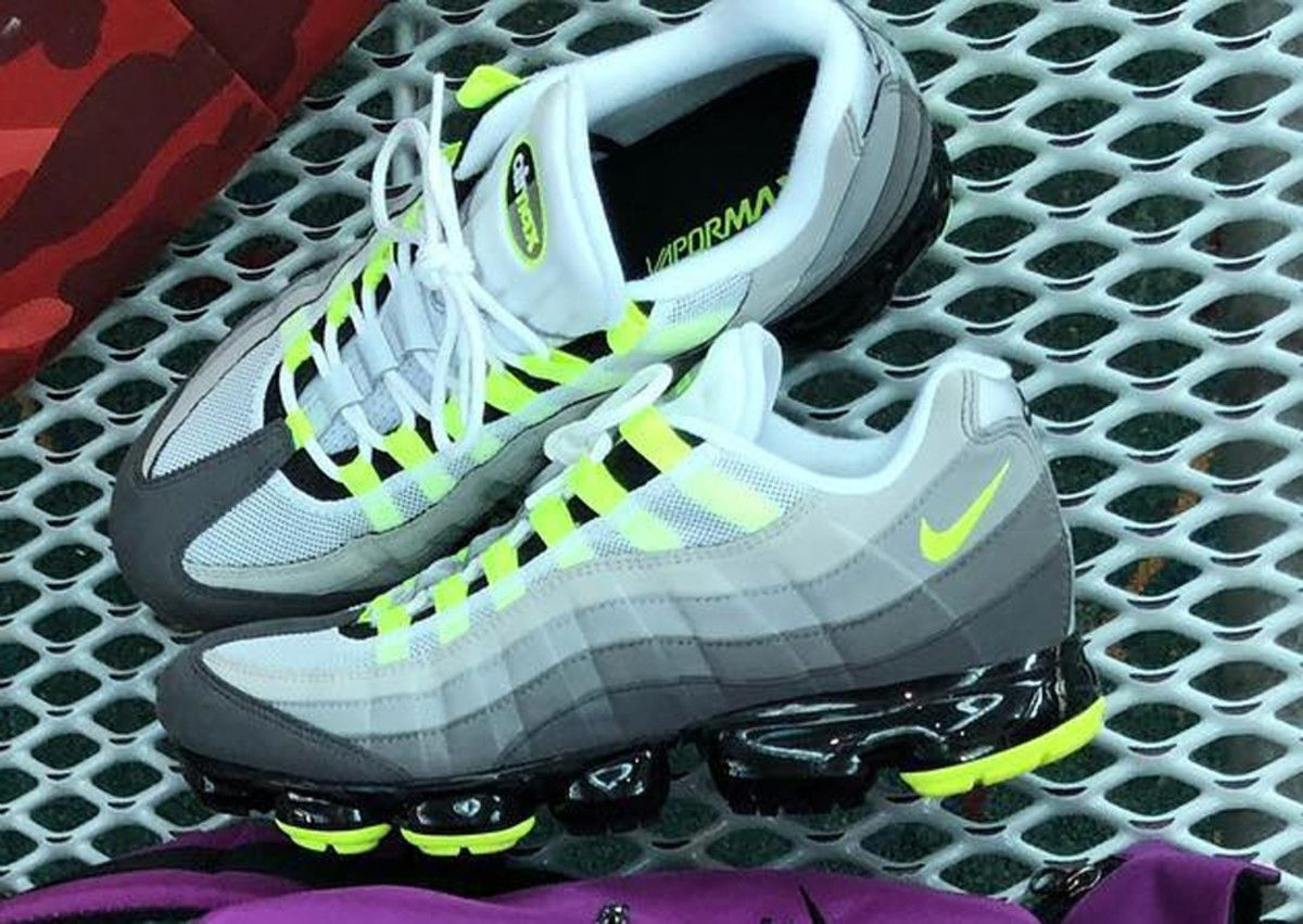 competitive price dedea 838a7 the nike air max 95 neon gets a vapormax update