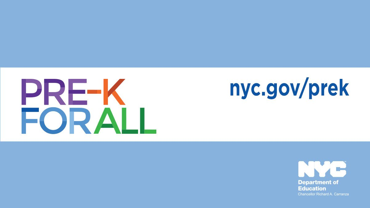 Nyc Public Schools On Twitter Thanks To Pre K For All My